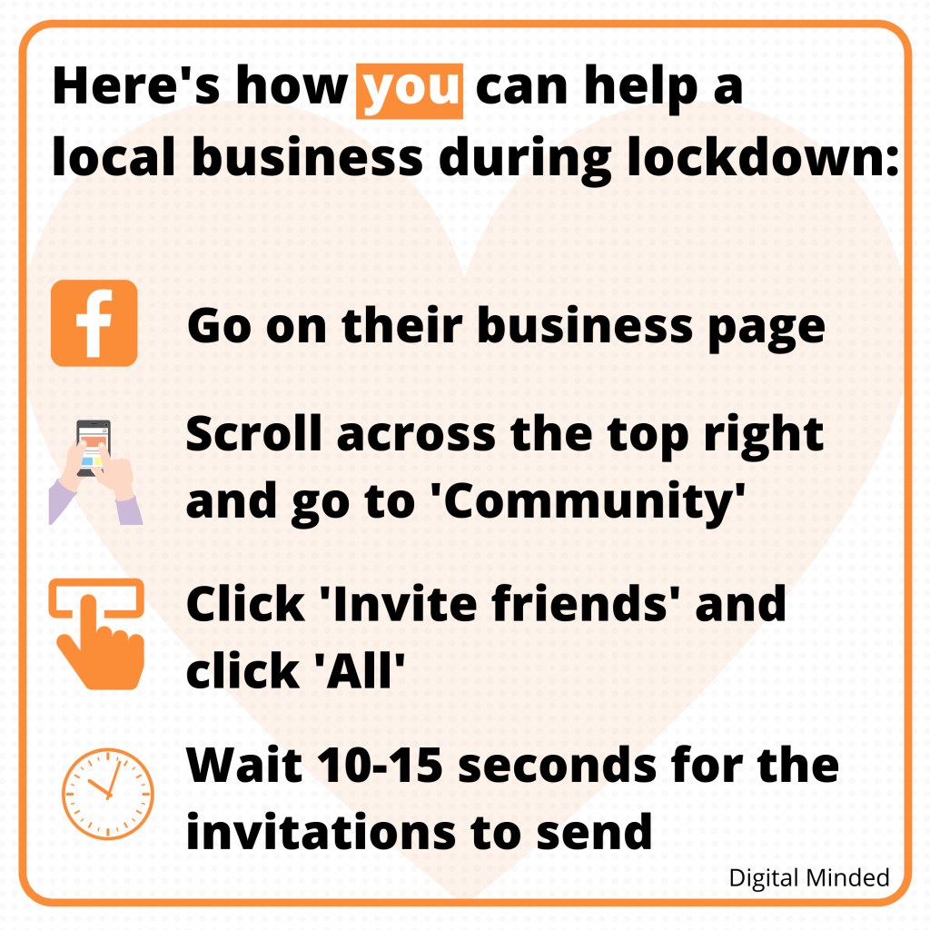 How you can help a local business during lockdown